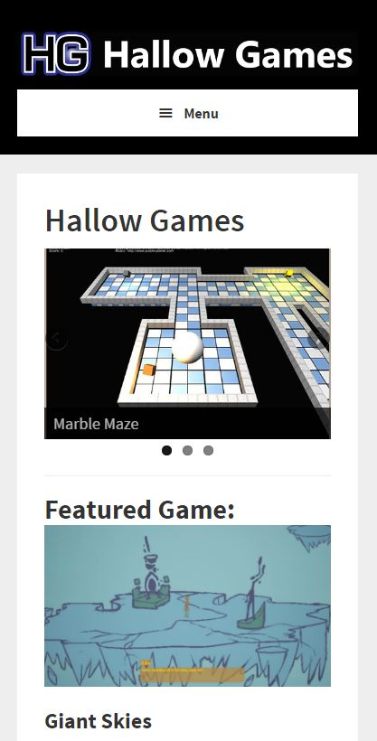 Hallow Games mobile